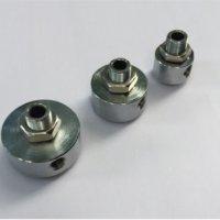 Прижимні головки ф28мм-ф38мм-ф45мм-ф48мм для циліндру видуву