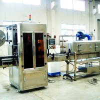 Етикетувальна машина для нанесення термозбіжної етикетки з парогенератором ABH-150