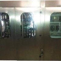 Моноблок розливу газованої (негазованої) води (скляна пляшка) DXGF 18-18-6